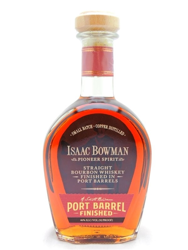 Isaac Bowman Port Barrel Finished Bourbon