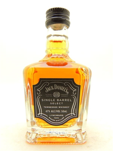 Jack Daniels Single Barrel Whiskey Miniature