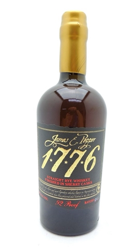 James E Pepper 1776 Sherry Cask Rye Whiskey