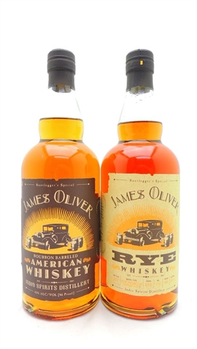 James Oliver Whiskey Collection