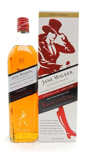 Jane Walker Johnnie Walker 10 Year Old Scotch