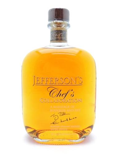 Jefferson's Chef's Collaboration Bourbon and Rye