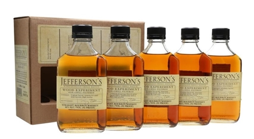 Jefferson's Wood Experiment Bourbon Whiskey