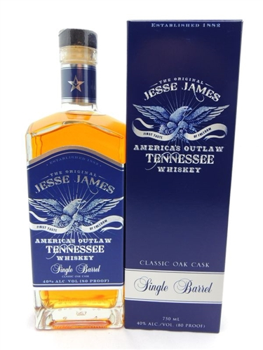 Jesse James Single Barrel Whiskey