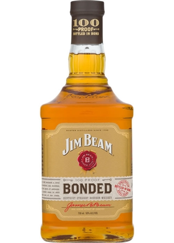 Jim Beam Bonded Bourbon Whiskey Liter