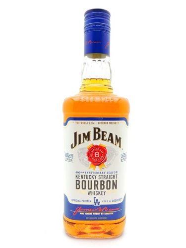 Jim Beam Los Angeles Dodger's Bottle