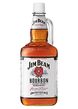 Jim Beam Bourbon Whiskey Bottle
