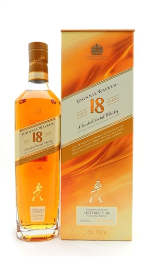 Johnnie Walker 18 Year Old Scotch Whiskey