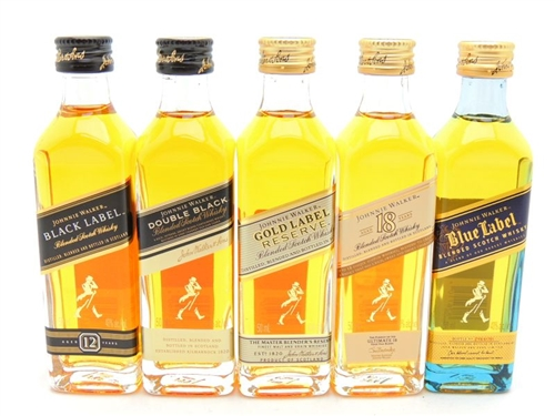 Johnnie Walker Miniature Gift Set