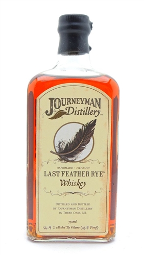 Journeyman Last Feather Cask Strength Rye Whiskey