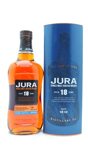 Jura 18 Year Old Single Malt Scotch