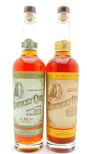 Kentucky Owl Bourbon Whiskey Collection