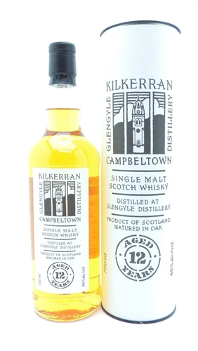 Kilkerran 12 Year Old Single Malt Scotch