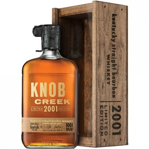 Knob Creek 2001 Limited Edition 14 Years Old Bourbon Whiskey