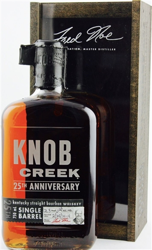 Knob Creek 25th Anniversary Bourbon Whiskey