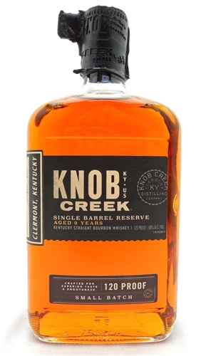 Knob Creek Single Barrel Bourbon Aged 9 Years