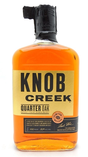 Knob Creek Quarter Oak Bourbon