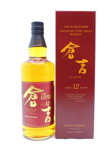 Kurayoshi 12 Year Old Whiskey