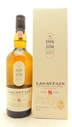 Lagavulin Scotch 8 Years Old Single Malt Scotch Limited Edition