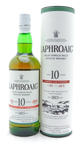 Laphroaig Cask Strength Scotch