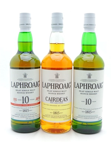 Laphroaig Scotch Collection