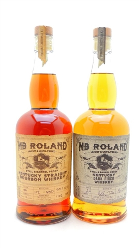 MB Roland Bourbon Whiskey Collection