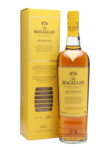 Macallan Scotch Edition No.3