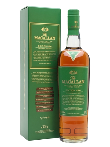 Macallan Scotch Edition No.4