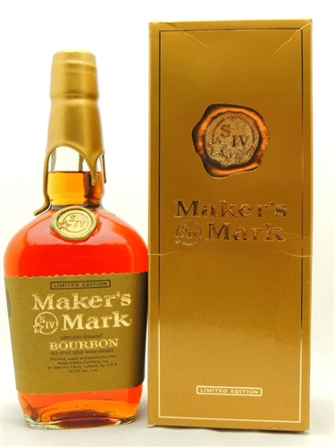 Makers Mark 101 Proof Gold Limited Edition
