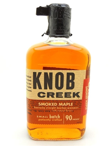 Knob Creek Smoked Maple Bourbon Whiskey