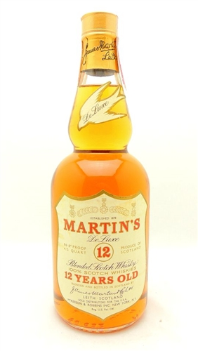Martin's Scotch De Luxe 12 Years Scotch by James Martin