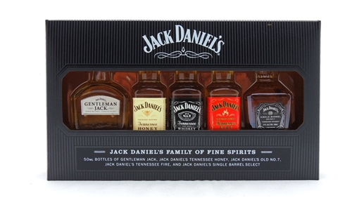 Miniature Bottles of Jack Daniels