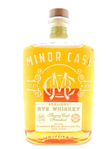 Minor Case Rye Whiskey