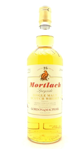 Mortlach Scotch 25 Years Old Scotch