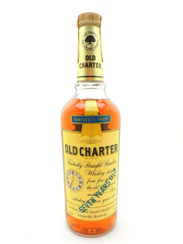 Old Charter Bourbon 7 Years Old 86 Proof