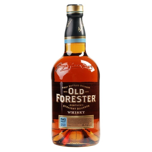 Old Forester Bourbon Whiskey Half Gallon