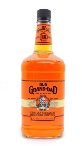 Old Grand Dad Bourbon Half Gallon