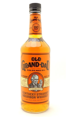 Old Grand Dad Bourbon 80 Proof