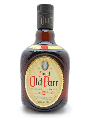 Old Parr Scotch 12 Year Old