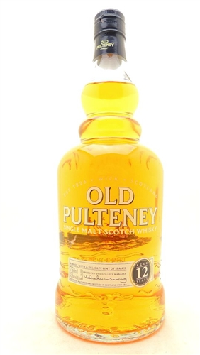 Old Pulteney Scotch 12 Years Old