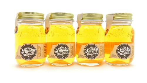 Ole Smoky Apple Pie Moonshine Miniatures Four