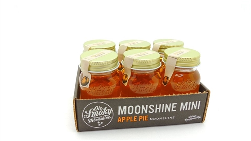 Ole Smoky Apple Pie Moonshine Miniature Box