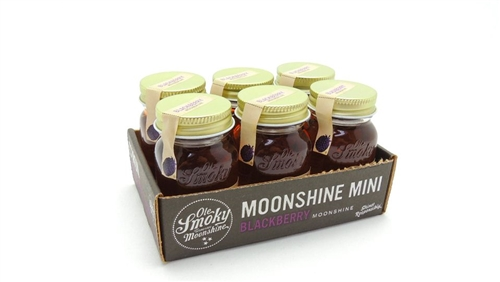 Ole Smoky Blackberry Moonshine Miniature Box Set