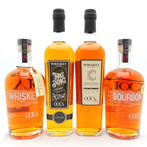 Oola Bourbon Whiskey Collection