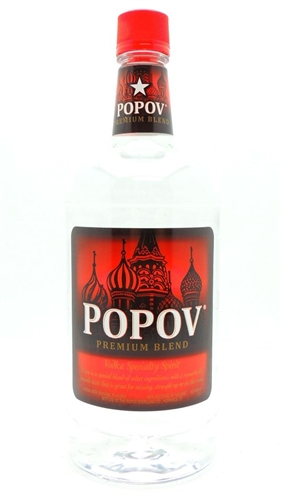 Popov Vodka Half Gallon