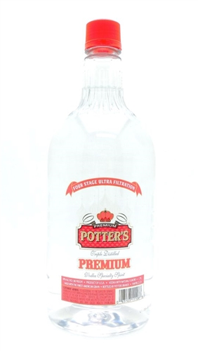Potter's Vodka Half Gallon
