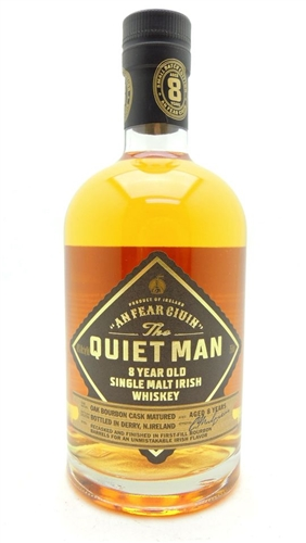 Quiet Man 8 Year Old Irish Whiskey