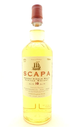 Scapa Scotch 10 Years Single Malts Scotch