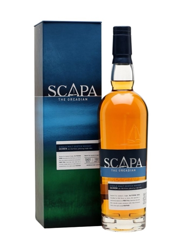 Scapa Scotch Skiren Single Malt Scotch