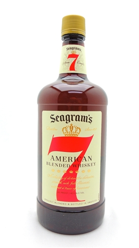 Seagram's 7 Whiskey Half Gallon